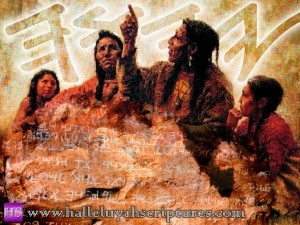 Native Americans seek Paleo Hebrew Scriptures