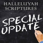 Special & Wonderful Updates – HalleluYah