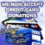 We Accept Credit Cards On Our Order Pages Now - HalleluYah!!!