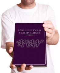 Holding HalleluYah Scriptures