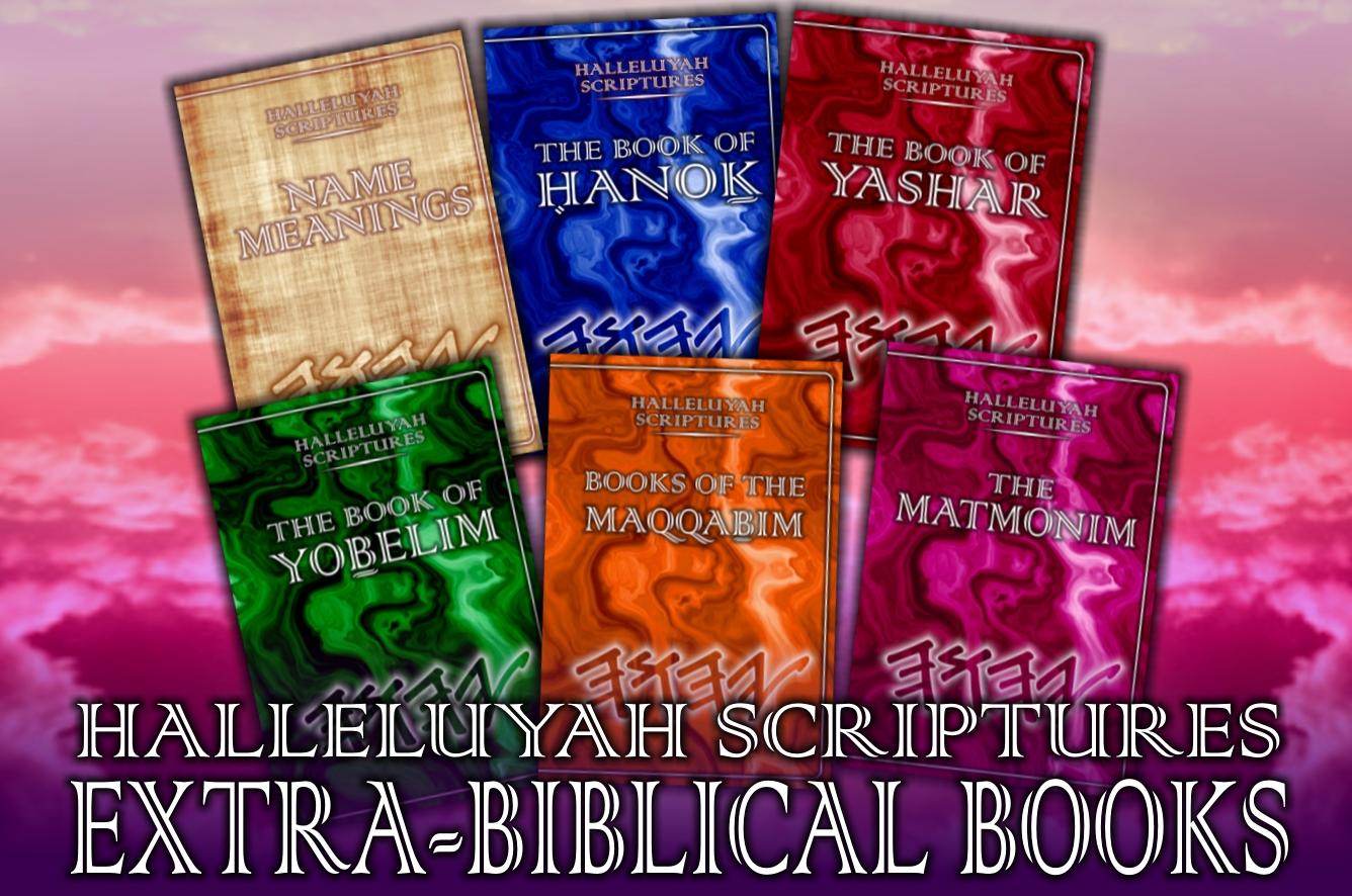 001 extra bibcal books