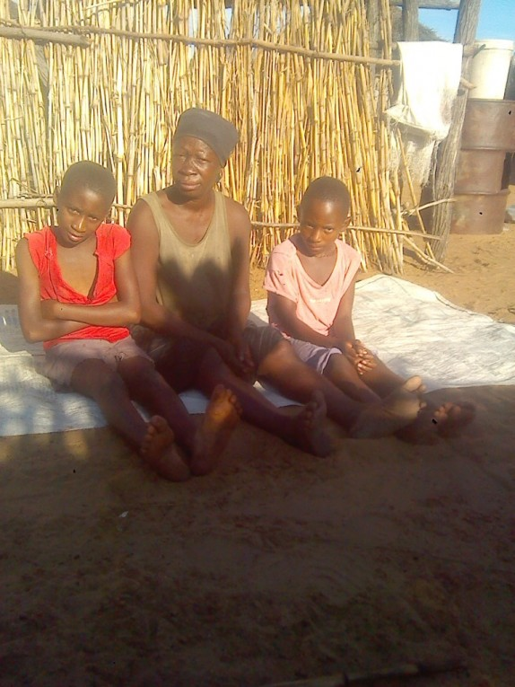 0 HalleluYah Scriptures Pictures of orphans and their care-taker in Namibia 10
