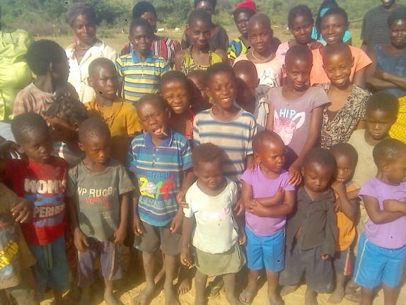 0 HalleluYah Scriptures Pictures of orphans and their care-taker in Namibia 13