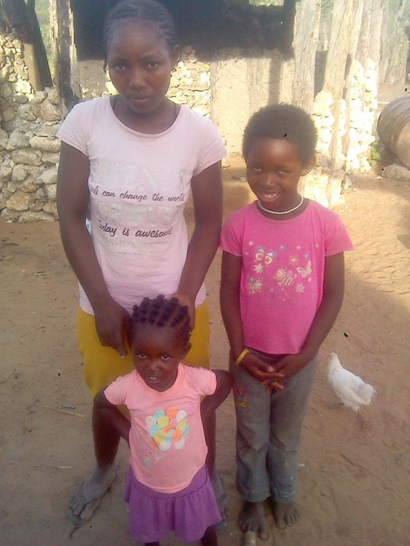 0 HalleluYah Scriptures Pictures of orphans and their care-taker in Namibia 2