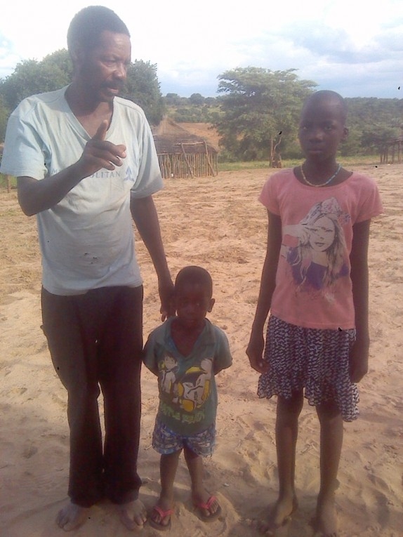 0 HalleluYah Scriptures Pictures of orphans and their care-taker in Namibia 3