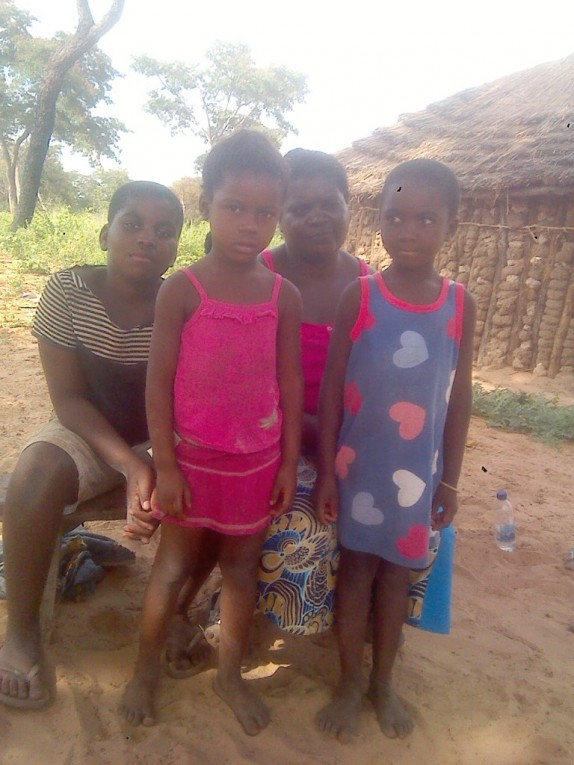 0 HalleluYah Scriptures Pictures of orphans and their care-taker in Namibia 5